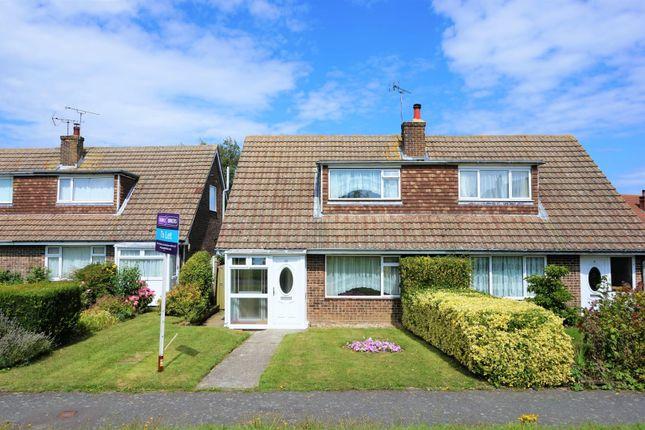 Thumbnail Semi-detached house to rent in Longsfield, Ashford