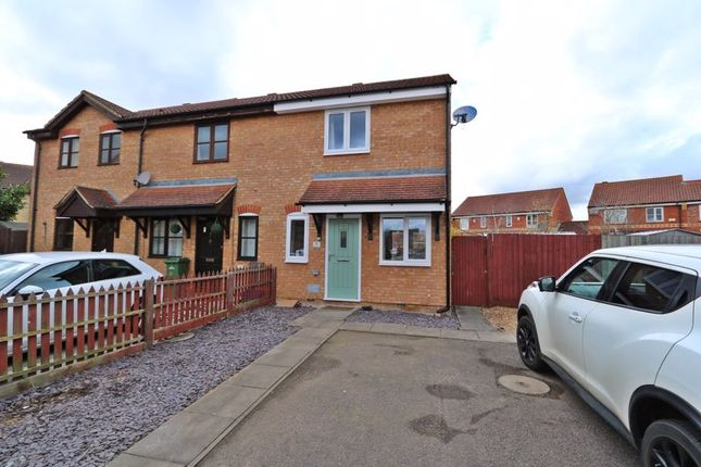 Thumbnail End terrace house for sale in Lindores Croft, Monkston, Milton Keynes