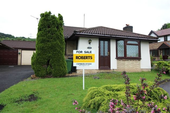 Thumbnail Detached bungalow for sale in Ashleigh Court, Henllys, Cwmbran, Torfaen