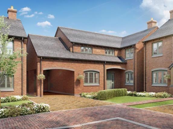 Thumbnail Detached house for sale in Laburnum Gardens, High Street, Stoke Golding, Nuneaton