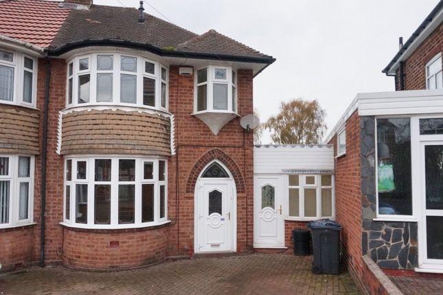 Thumbnail Semi-detached house for sale in Chestergate Croft, Erdington, Birmingham