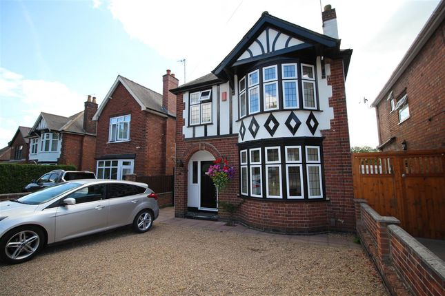 Thumbnail Detached house for sale in Ilkeston Road, Trowell, Nottingham