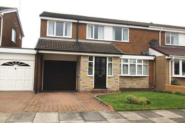 Semi-detached house for sale in Windburgh Drive, Southfield Lea, Cramlington