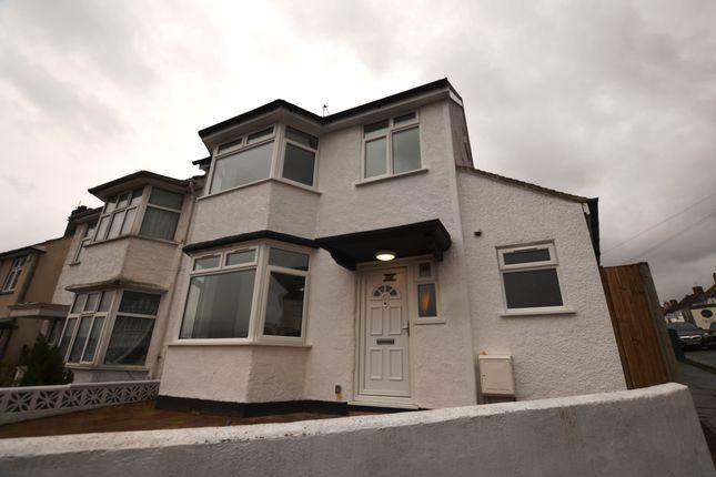 Thumbnail Semi-detached house to rent in The Ridgeway, London, London