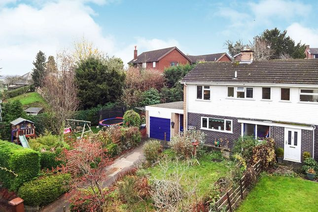 Thumbnail Semi-detached house for sale in Tregarthen Lane, Pant, Oswestry, Shropshire