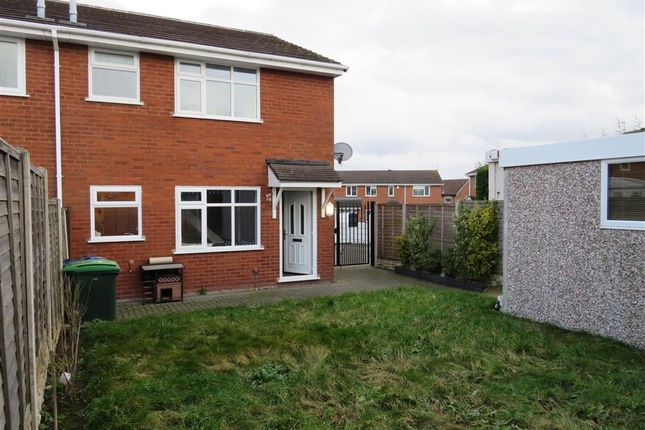 Thumbnail End terrace house for sale in Catherton Close, Tipton