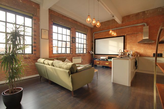 1 bed flat for sale in Wexler Lofts, 100 Carver Street, Jewellery Quarter B1