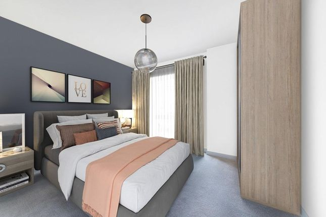 """Bedroom1 of """"No.10 Poppy Mews"""" at Bittacy Hill, London NW7"""