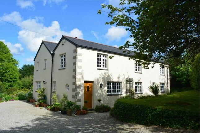 Thumbnail Detached house for sale in Old Carnon Hill, Perranwell Station, Nr Truro, Cornwall