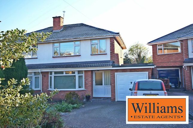3 bed semi-detached house for sale in Carless Close, Hereford