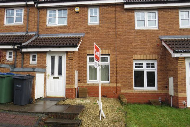 2 bed terraced house for sale in Poppy Drive, Walsall
