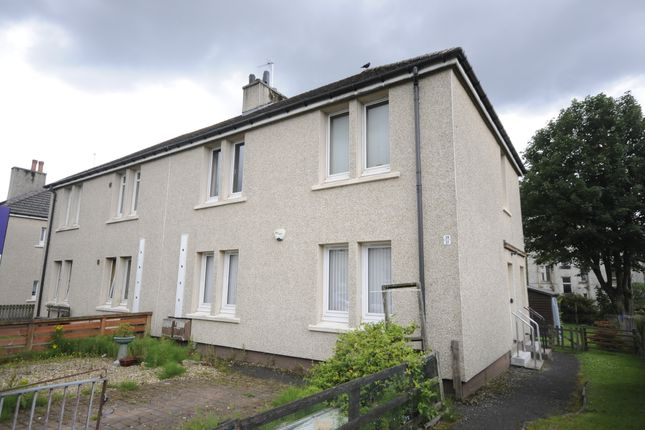 Thumbnail Flat for sale in Martin Crescent, Baillieston, Glasgow