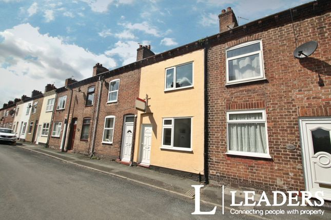 Thumbnail Terraced house to rent in James Street, Northwich