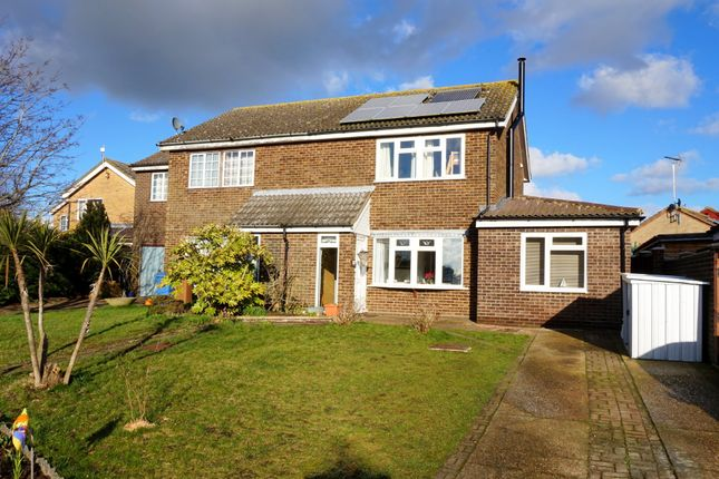 Thumbnail Semi-detached house for sale in Mill Rise, Holbrook, Ipswich