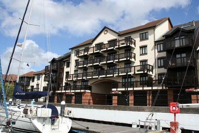 Thumbnail Flat to rent in Moorhead Court, Channel Way, Ocean Village Marina, Southampton