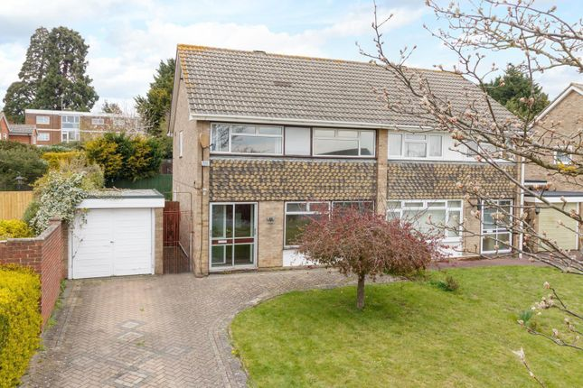 Thumbnail Semi-detached house to rent in Claremont Road, Vinters Park, Maidstone