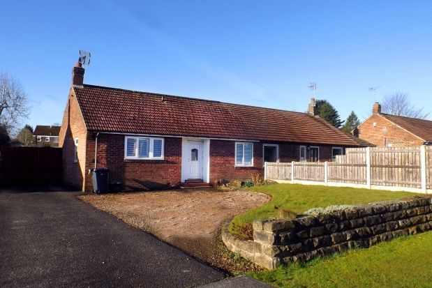 Thumbnail Semi-detached bungalow to rent in Greenfields Road, Harrogate