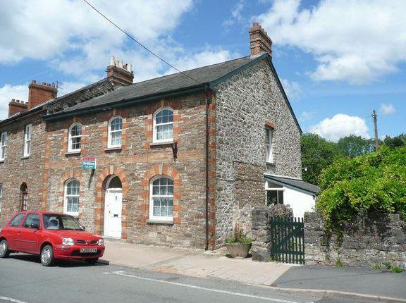 Thumbnail Semi-detached house to rent in National Terrace, Brook Street, Bampton, Tiverton