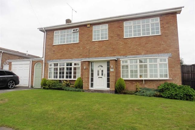 Thumbnail Detached house to rent in Maple Way, Earl Shilton, Leicester