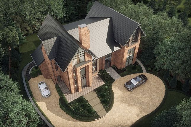 Thumbnail Detached house for sale in Hill Top, Hale, Altrincham