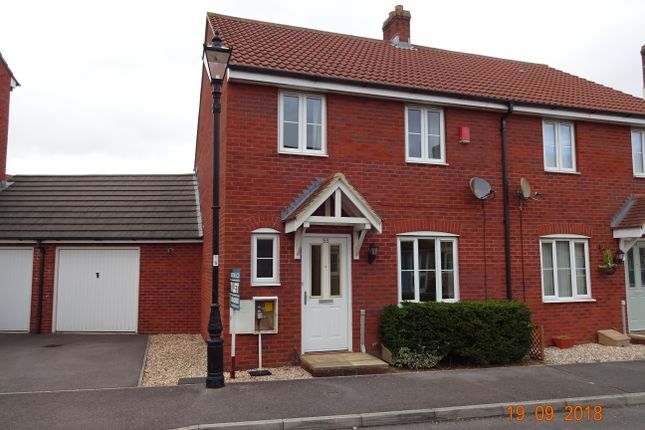 Thumbnail Semi-detached house to rent in Merevale Way, Yeovil