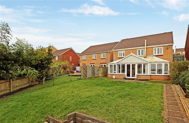 Thumbnail Detached house to rent in Delfryn, Miskin, Pontyclun