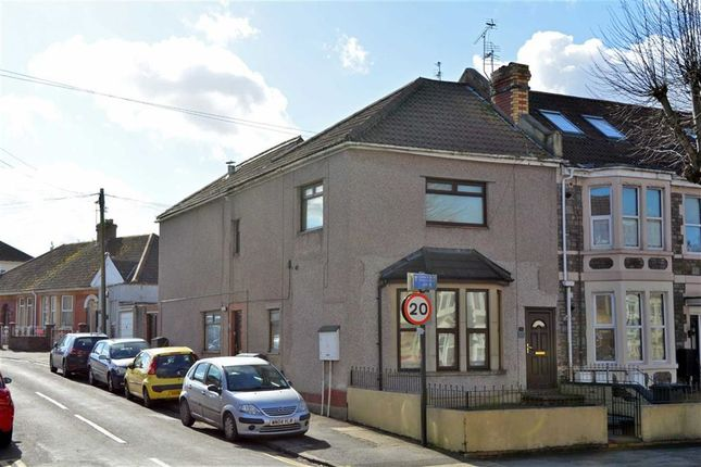 Thumbnail End terrace house for sale in Fishponds Road, Fishponds, Bristol