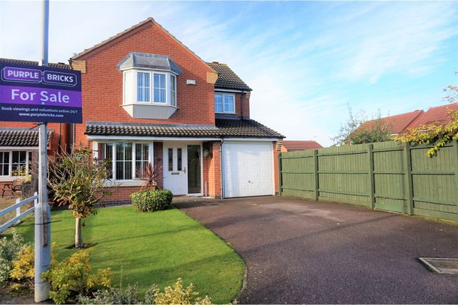 Thumbnail Detached house for sale in Netherfield Close, Broughton Astley