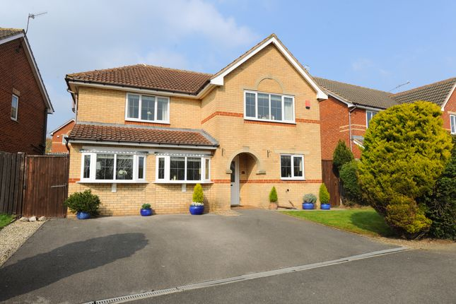 Thumbnail Detached house for sale in Holme Park Avenue, Newbold, Chesterfield