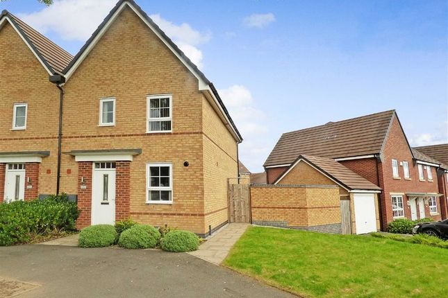 Thumbnail Semi-detached house for sale in The Square, Longton, Stoke-On-Trent
