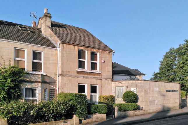Thumbnail End terrace house for sale in Kensington Gardens, Bath
