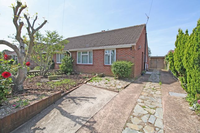 Thumbnail Semi-detached bungalow for sale in Orchard Way, Topsham, Exeter