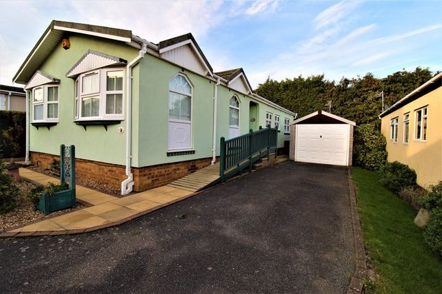 Thumbnail Mobile/park home for sale in Long Close, Lower Stondon
