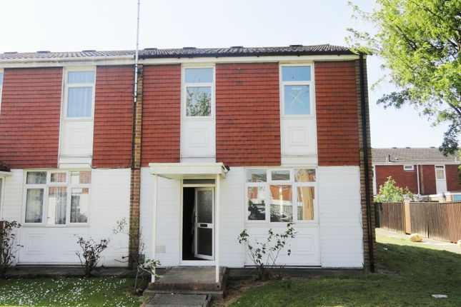 Thumbnail End terrace house to rent in Selkirk Road, Leicester
