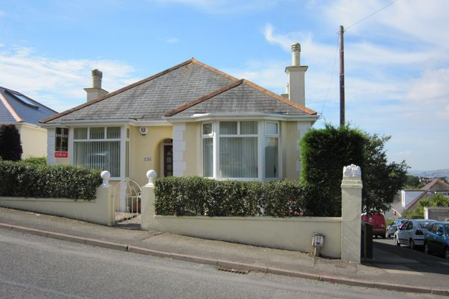 Thumbnail Detached bungalow for sale in Windsor Road, Torquay