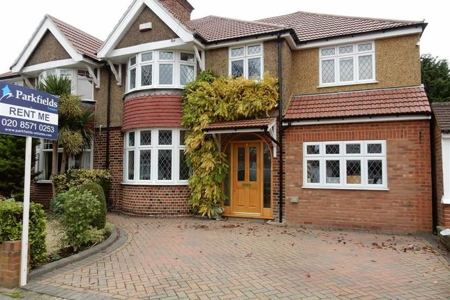 Thumbnail Semi-detached house to rent in Blossom Waye, Heston, Hounslow