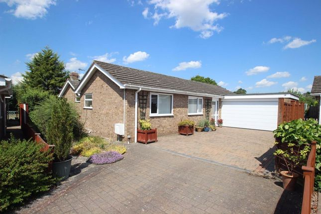 Thumbnail Detached bungalow for sale in Traherne Close, Lugwardine, Hereford
