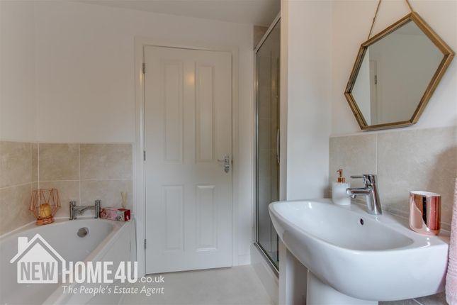 Family Bathroom: of Ffordd Boydell, Connah's Quay, Deeside CH5