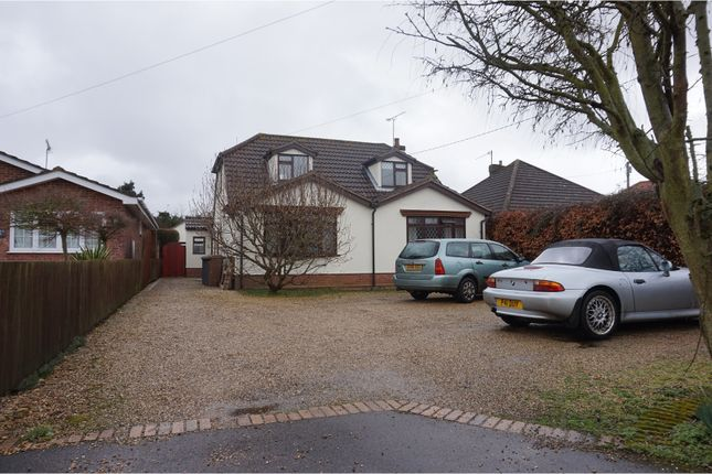 Thumbnail Detached bungalow for sale in Bell Lane, Ipswich