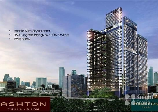 Ashton Silom Chula, 34.5 Sqm, Unblock View