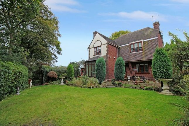 Thumbnail Detached house for sale in Lawton Avenue, Church Lawton, Cheshire