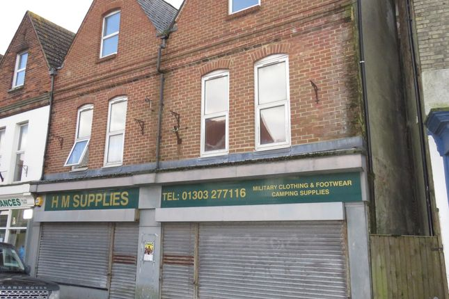 Thumbnail Flat for sale in Cheriton High Street, Folkestone
