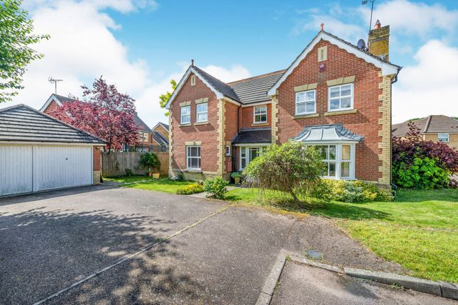 Thumbnail Detached house to rent in Hazel Close, Southwater, Horsham