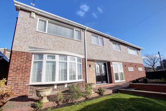 Thumbnail Detached house for sale in Portland Gardens, Low Fell, Gateshead