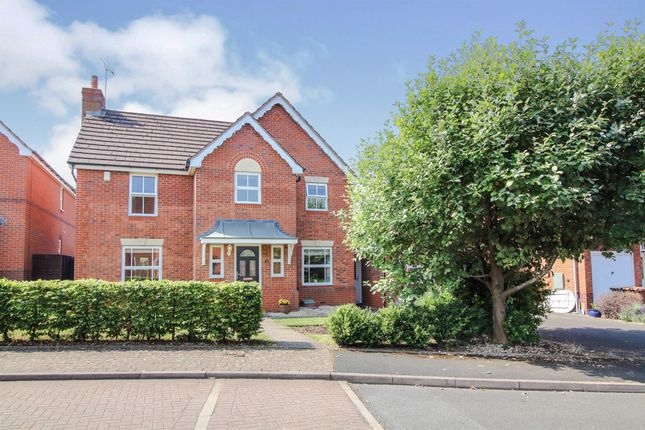 Thumbnail Detached house for sale in Ripley Gardens, Warndon, Worcester