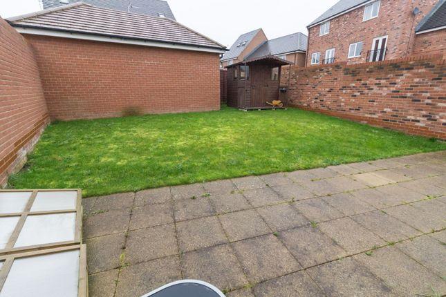 Rear Garden of Vetch Way, Andover SP11