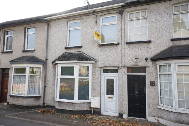 Thumbnail Terraced house for sale in Risca Road, Rogerstone, Newport