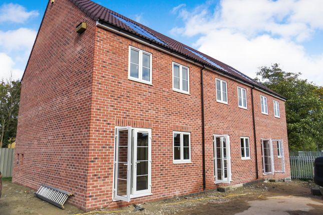 Thumbnail End terrace house for sale in Barons Crescent, Trowbridge