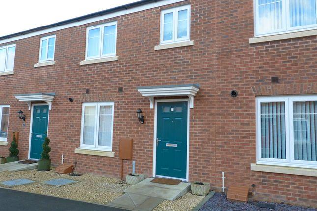 Thumbnail Terraced house for sale in Golden Arrow Way, Coopers Edge, Brockworth, Gloucester