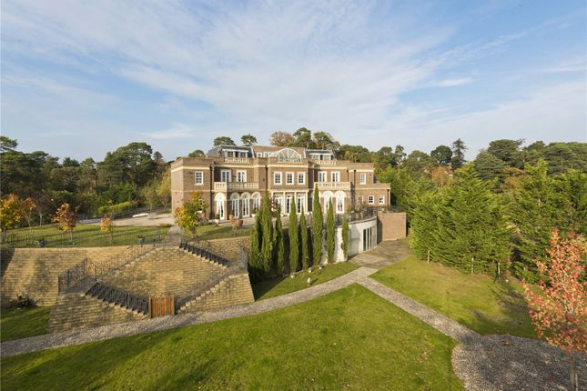 Detached house for sale in Camp End Road, St George's Hill, Weybridge, Surrey